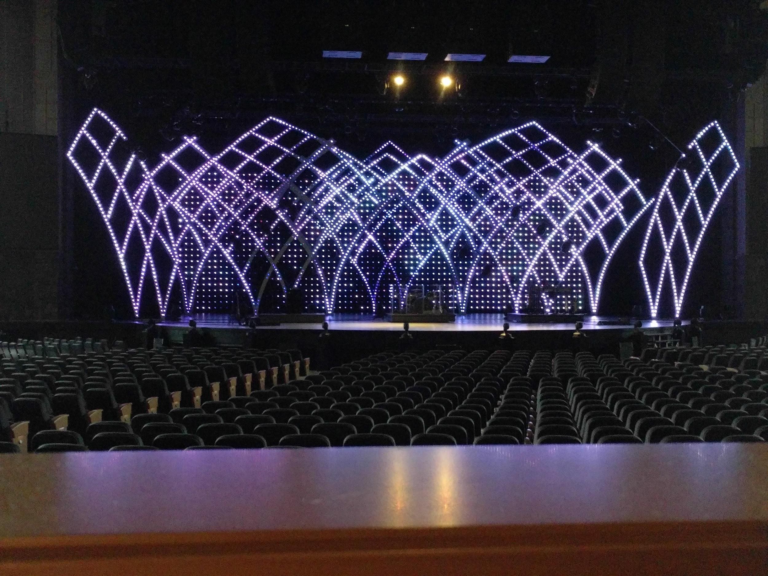 Designing With Scenic LED Pixels – Willow Creek Production